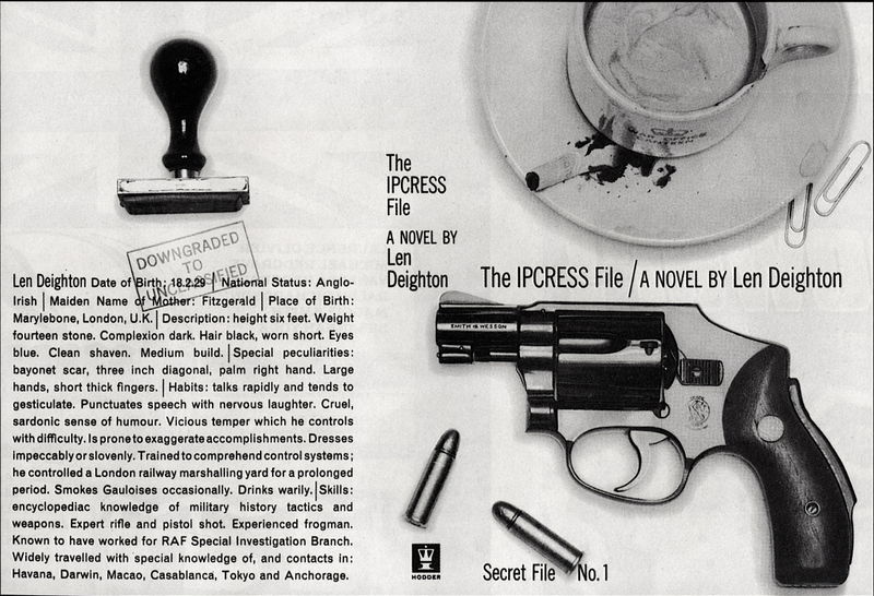 Ipcress file Book cover