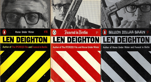 Deighton Penguin paperback covers