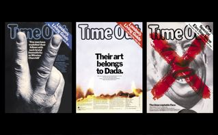 Time Out covers-