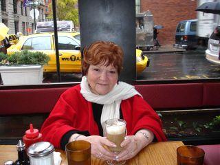 2 - Helen in cafe