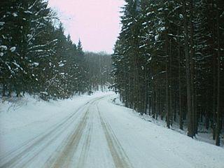The road to Schwenden
