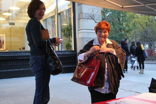 Helen's got a brand new bag