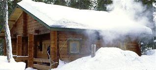 Oskar's sauna cabin