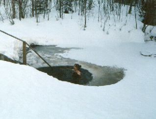 The ice hole