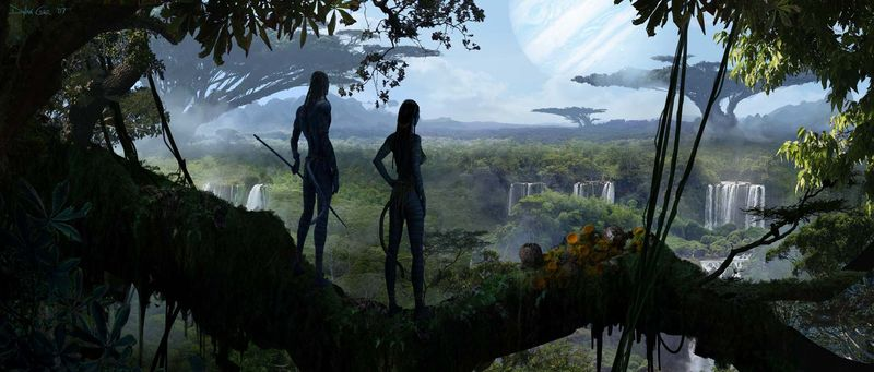 Avatar 2009 concept skcetch