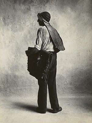 Coal Man London 1950