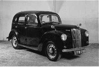 A 1950 Ford Prefect