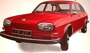 E. 1973 VW 411