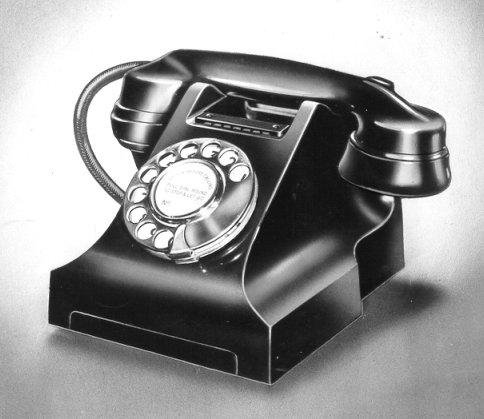 Classic GPO phone