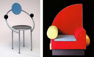 Memphis chairs