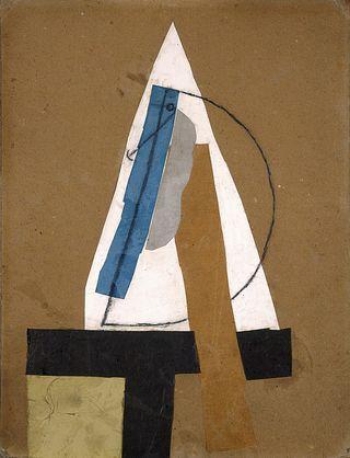 Pablo Picasso, Head (Tete), 1913