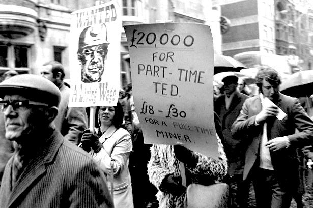 Miners Strike - February 1972-1456728