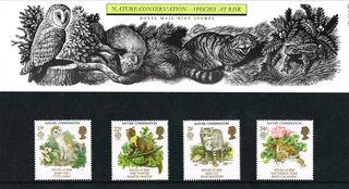 Royal Mail presentation pack - 1986