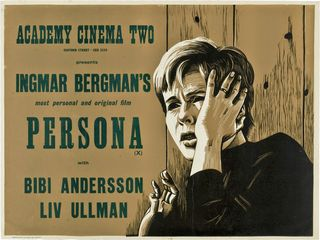 PERSONA - UK Poster by Peter Strausfeld
