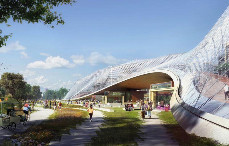 Bjarke-ingels-group-BIG-thomas-heatherwick-google-headquarters-mountain-view-designboom-01