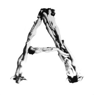 Nude alphabet