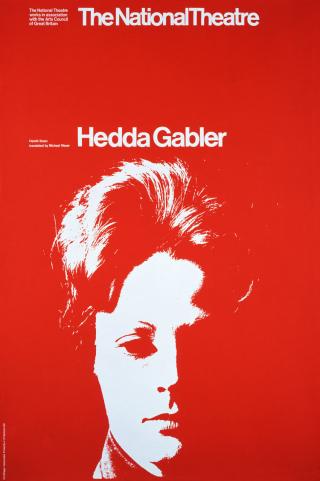 Hedda-Gabler-Poster-design-Ken-Briggs-and-Associates-1970