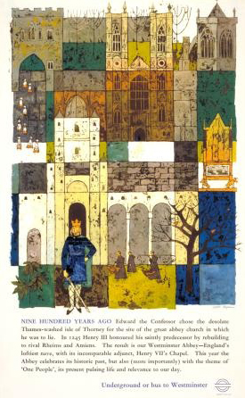 900_years_Westminster_Abbey_by_Gaynor_Chapman_1966