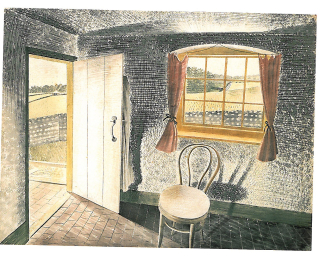 Eric Ravilious Interior at Furlongs 1939