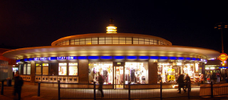 Southgate_station_london_1933 _geograph-org-uk_-_1605783