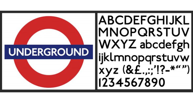 In 1916 a typeface was designed by calligrapher Edward Johnston.