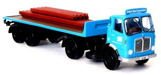 British-steel-model-lorry