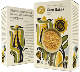 Doves Farm cereal packaging design - Studio h 01