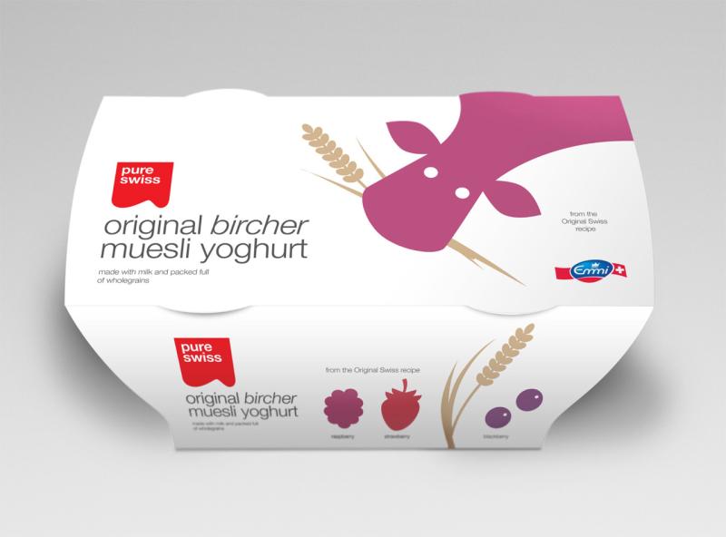 Pure Swiss packaging design - Studio h 01