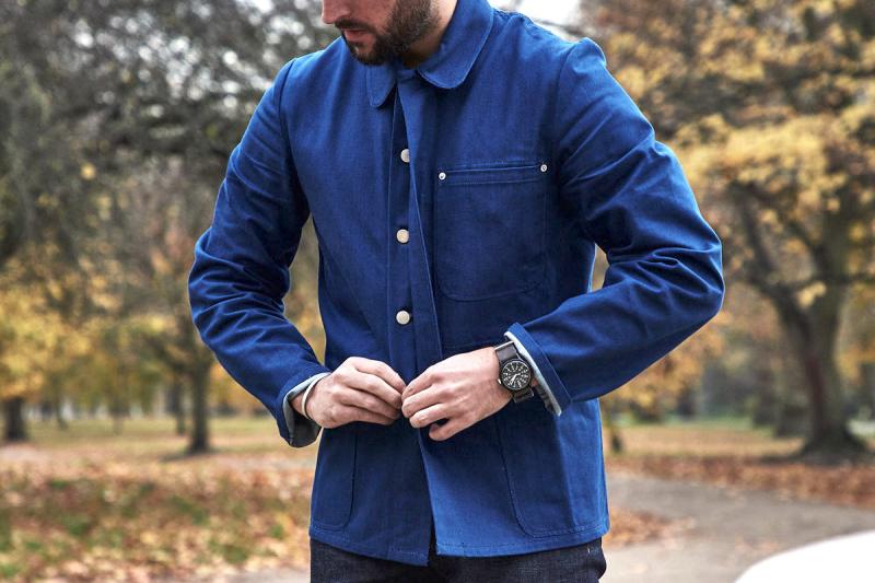 £250 french-workers-jacket-the-rake-blackhorse-lane-chore-coat